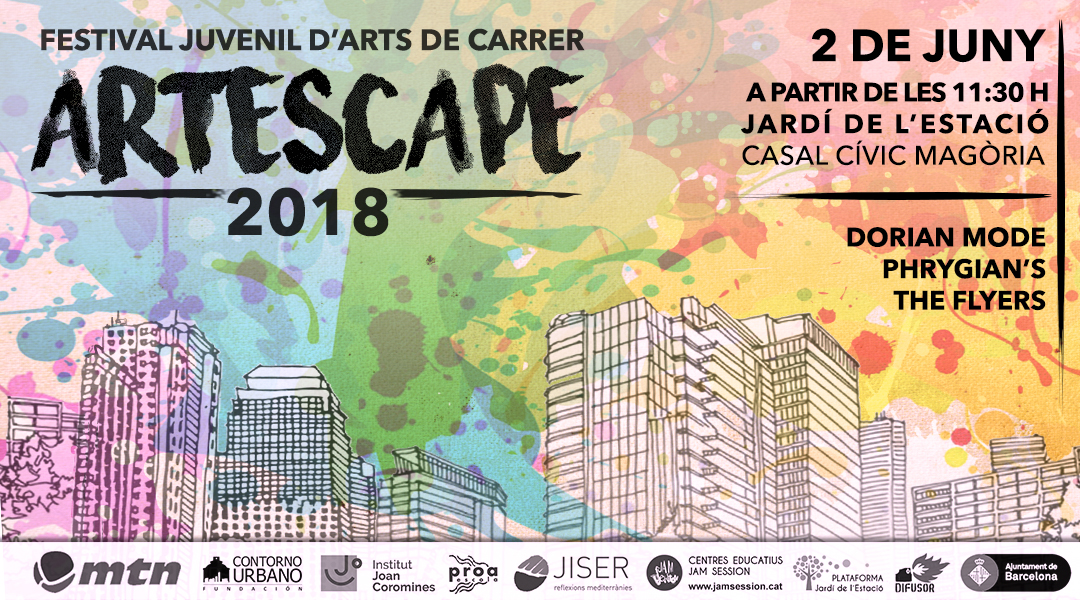 JUNE 2  ✪  ARTESCAPE 2018 – YOUTH FESTIVAL OF ARTS IN THE STREET