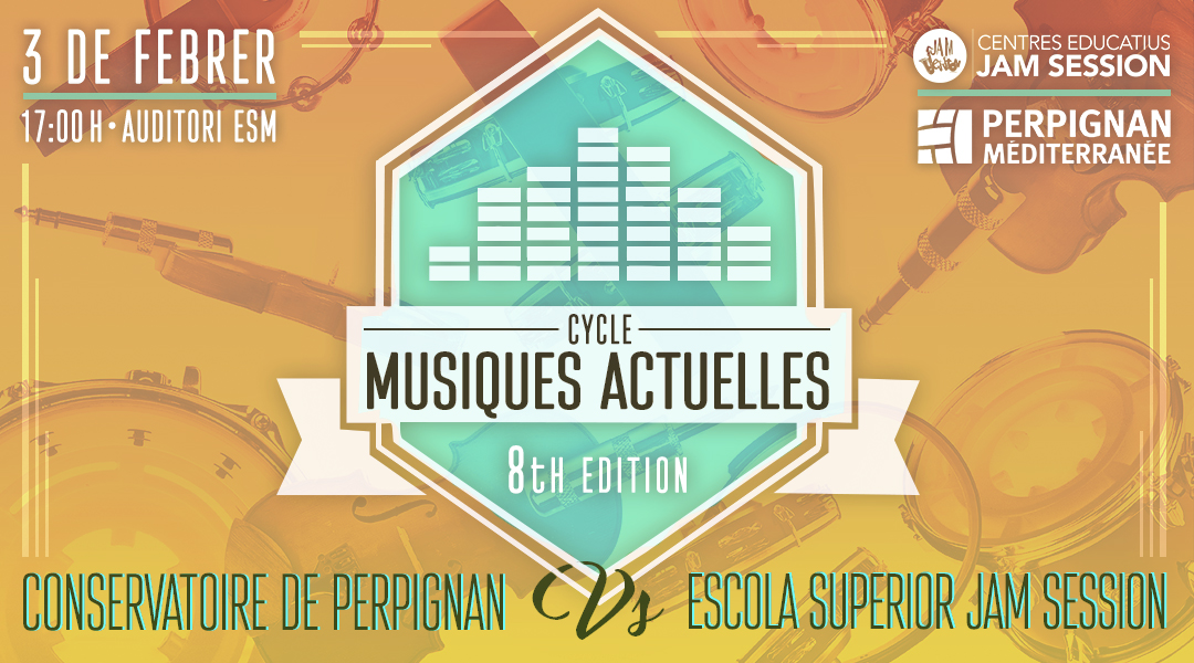 FEBRUARY 3  ✪  CYCLE MUSIQUES ACTUELLES (8th Edition)