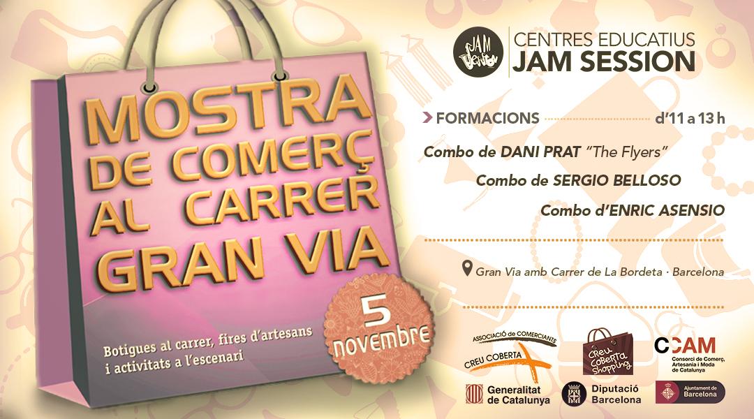 05-11-16-FIRA-A-GRANVIA-CREU-COBERTA-ESM-JAM-SESSION