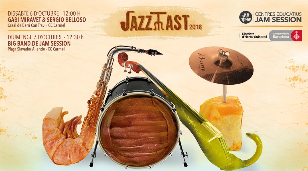 7 OCTUBRE  ✪  JAZZ TAST 2018 – BIG BAND JAM SESSION + GABI MIRAVET & SERGIO BELLOSO