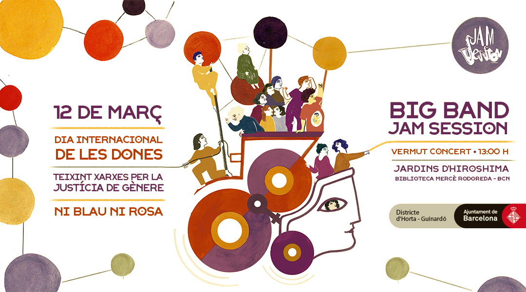 MARCH 12  ✪  INTERNATIONAL WOMEN'S DAY 2016 – BIG BAND JAM SESSION