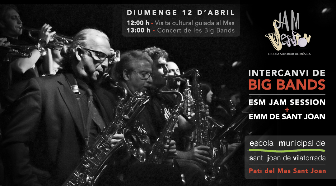 INTERCAMBIO DE BIG BANDS – EMM SANT JOAN DE VILATORRADA