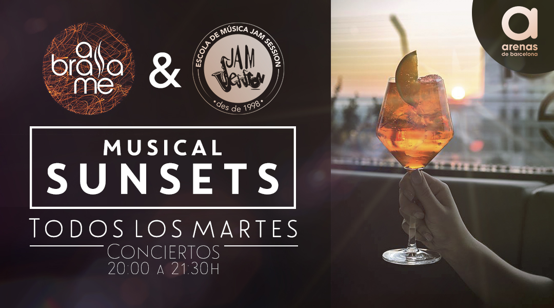 FROM MAY 16  ✪  MUSICAL SUNSETS AT ABRASSAME (LAS ARENAS)