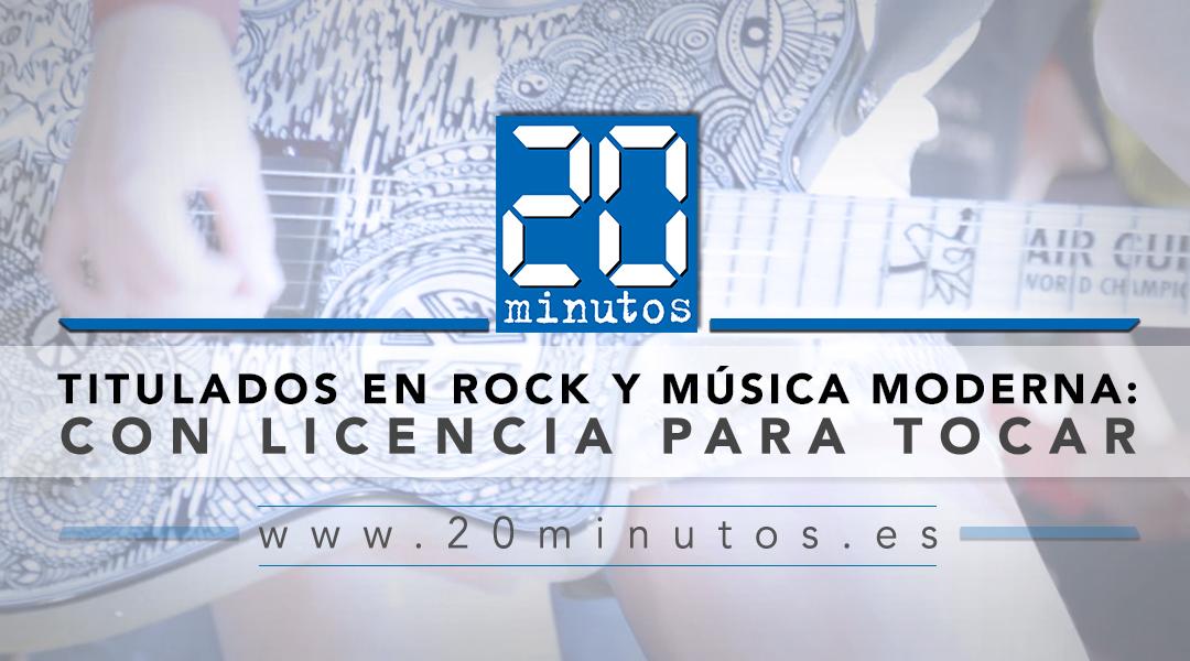 20 MINUTS – AMB LLICENCIA PER TOCAR