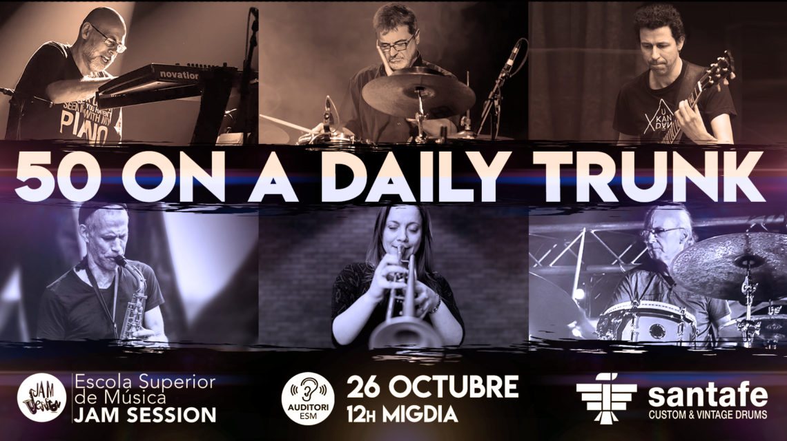 26 OCTUBRE  ✪  50 ON A DAILY TRUNK
