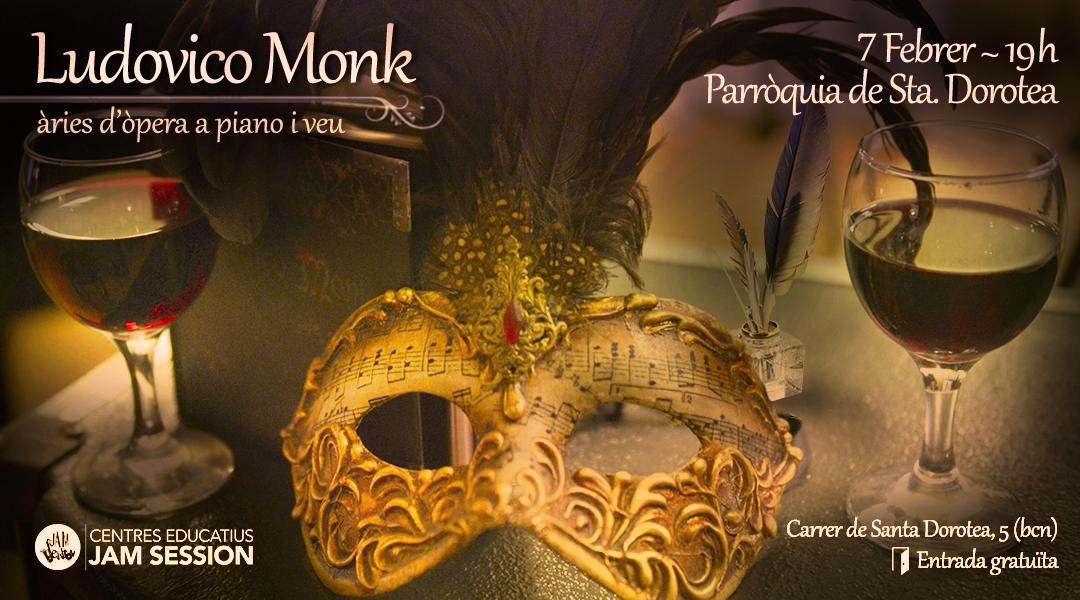JANUARY 27  ✪  LUDOVICO MONK AT CC FONT DE LA GUATLLA