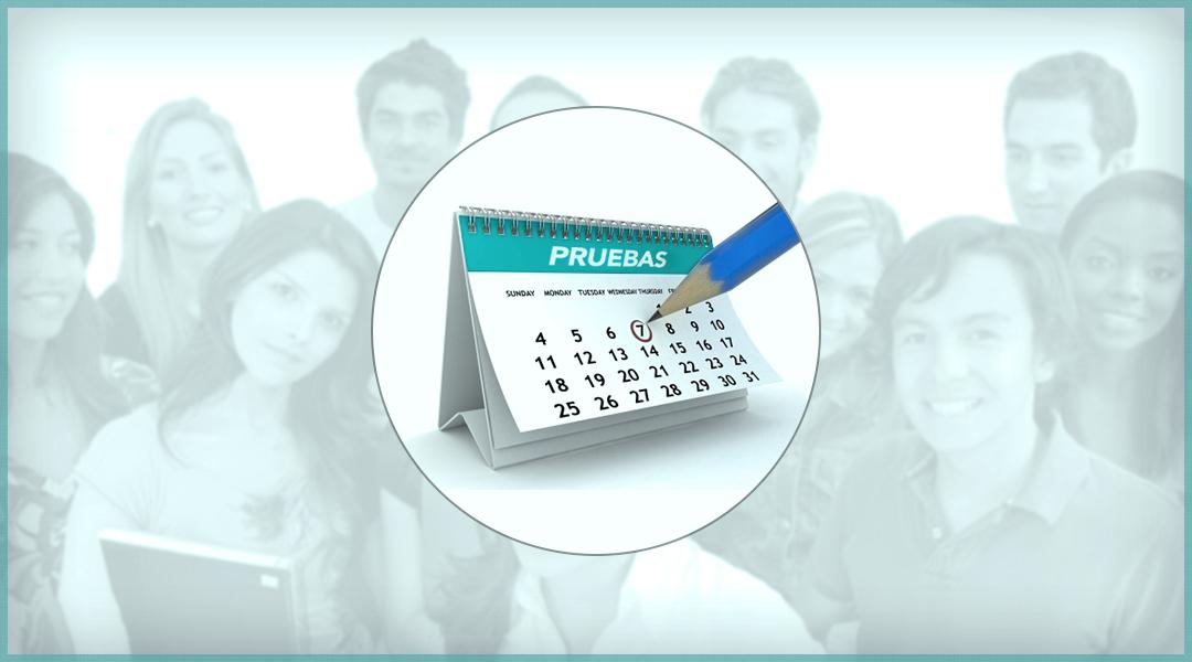 4. Calendario de pruebas