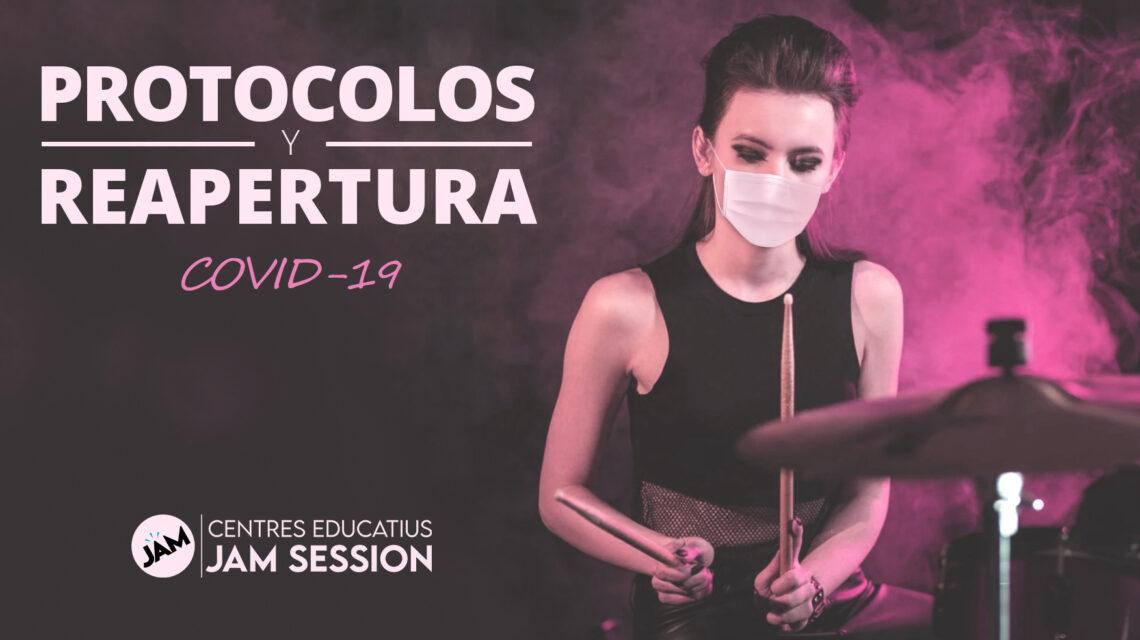 PROTOCOLOS Y PLAN DE REAPERTURA / COVID-19