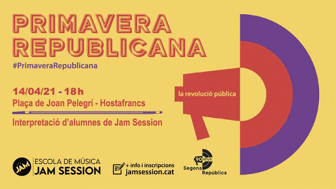14/04/21  ✪  PRIMAVERA REPUBLICANA EN HOSTAFRANCS