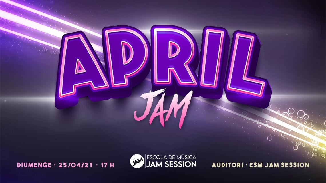 25/04/21  ✪  APRIL JAM (Escola de Música)