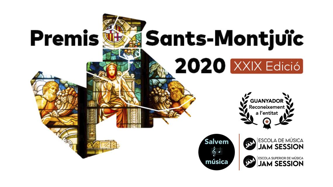 GANADORES DE LOS PREMIOS SANTS-MONTJUÏC 2020