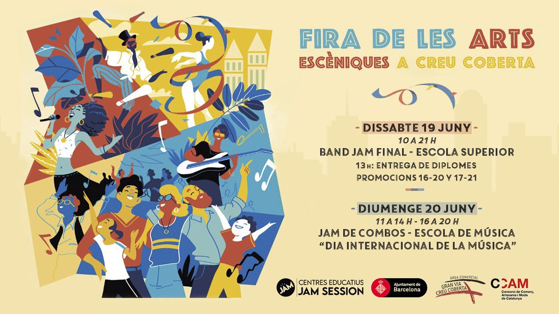 19 y 20/06/21  ✪  FIRA DE LES ARTS ESCÈNIQUES EN CREU COBERTA