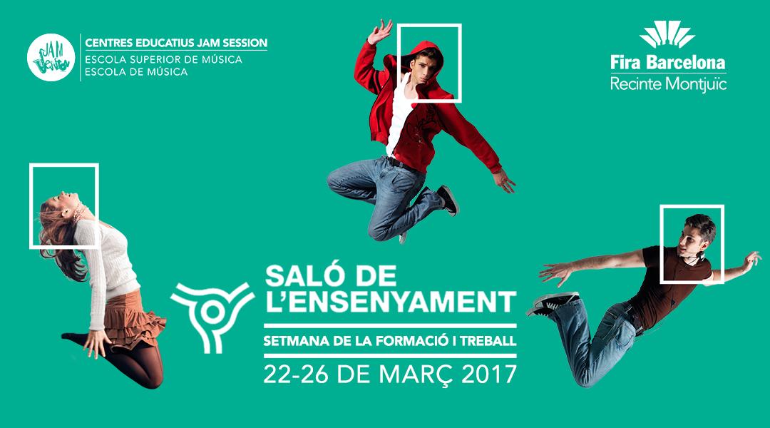 JAM SESSION AL SALÓ DE L'ENSENYAMENT – DEL 22 AL 26 DE MARÇ