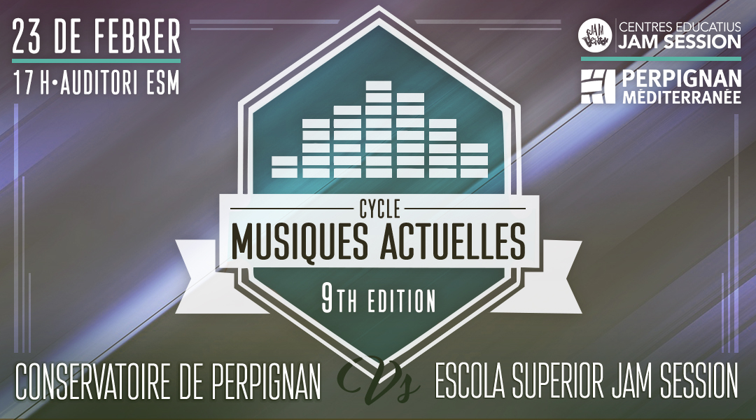 23 FEBRERO  ✪  CYCLE MUSIQUES ACTUELLES (9th Edition)