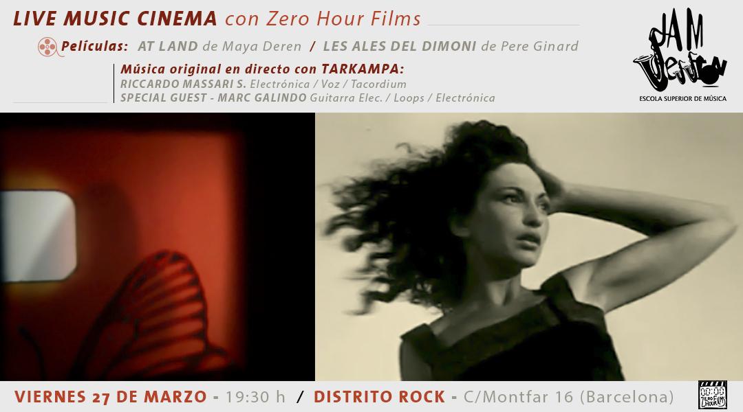 LIVE MUSIC CINEMA – CON RICCARDO MASSARI