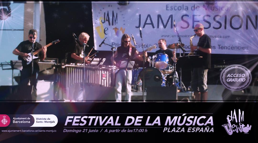 21 JUNY  ▪️  DIA INTERNACIONAL DE LA MÚSICA 2015 – PLAÇA ESPANYA
