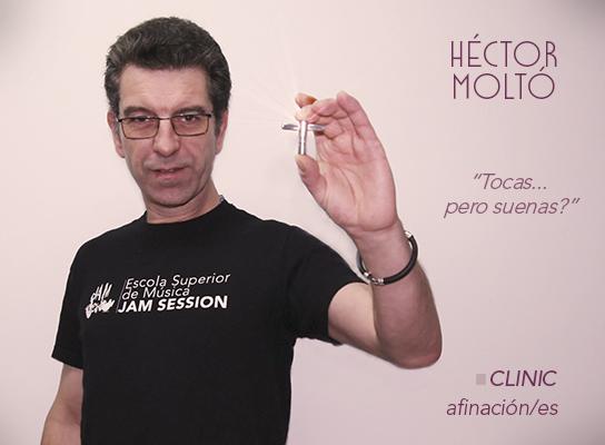 MASTER CLASS CON HÉCTOR MOLTÓ