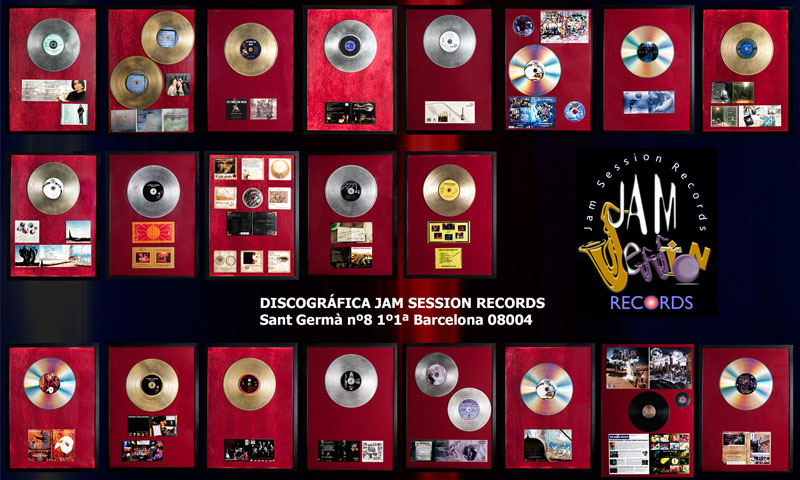 JAM SESSION RECORDS DESCLASIFICA SU CATÁLOGO A NIVEL MUNDIAL