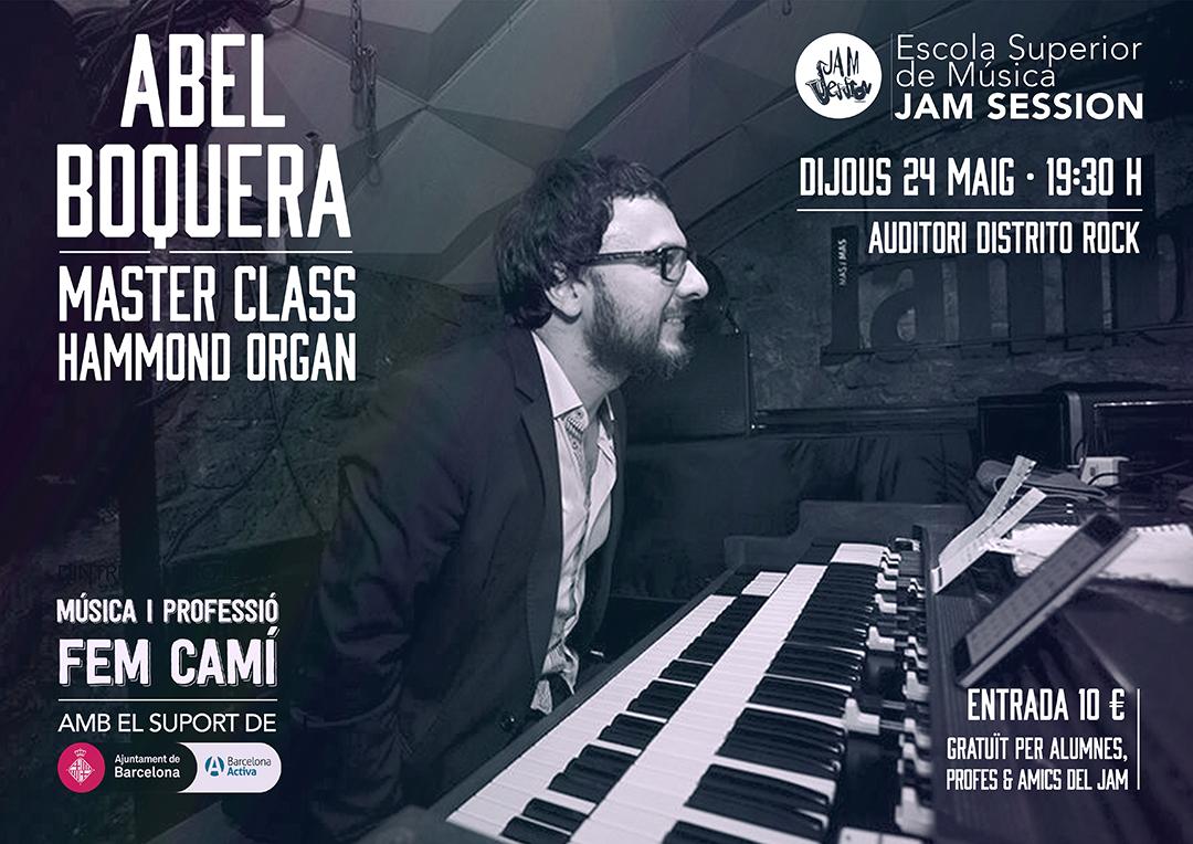 MASTER CLASS CON ABEL BOQUERA
