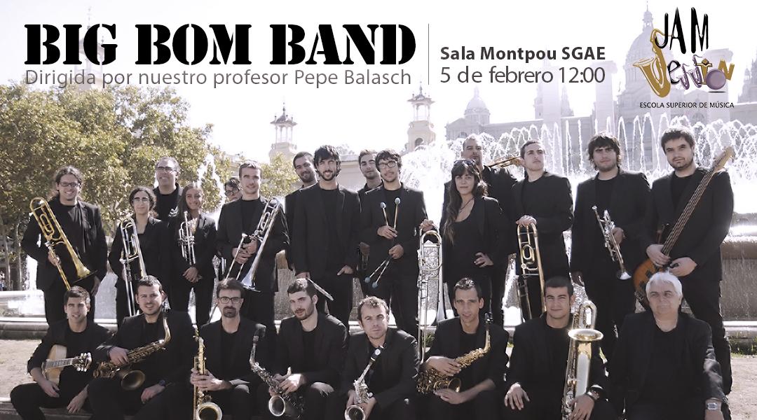 Pepe Balasch dirigeix la Big Bom Band