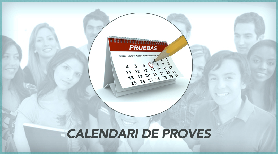 4. Calendari de proves
