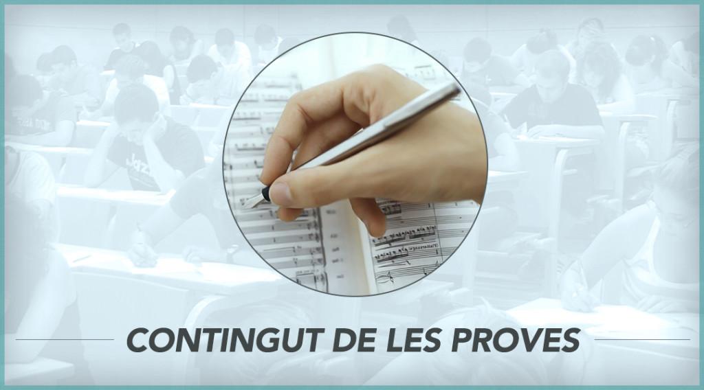 PROVES D'ACCÉS (SETEMBRE) – ESTUDIS SUPERIORS DE MÚSIQUES ACTUALS [2019-20]