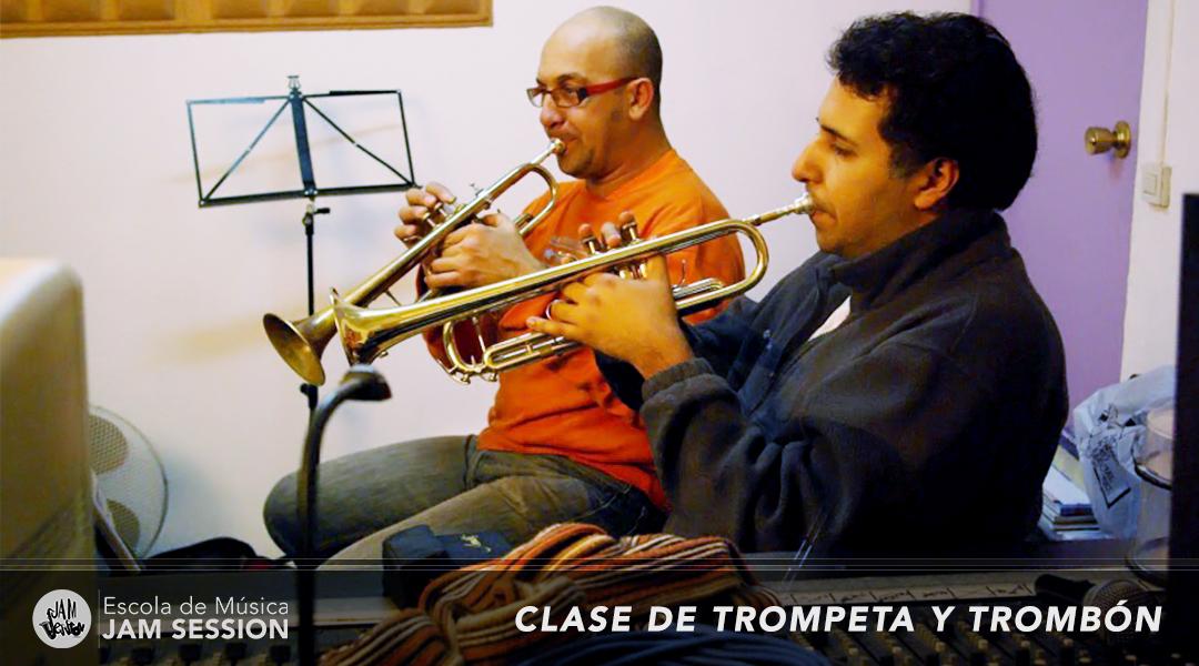 Clase trompeta y trombon