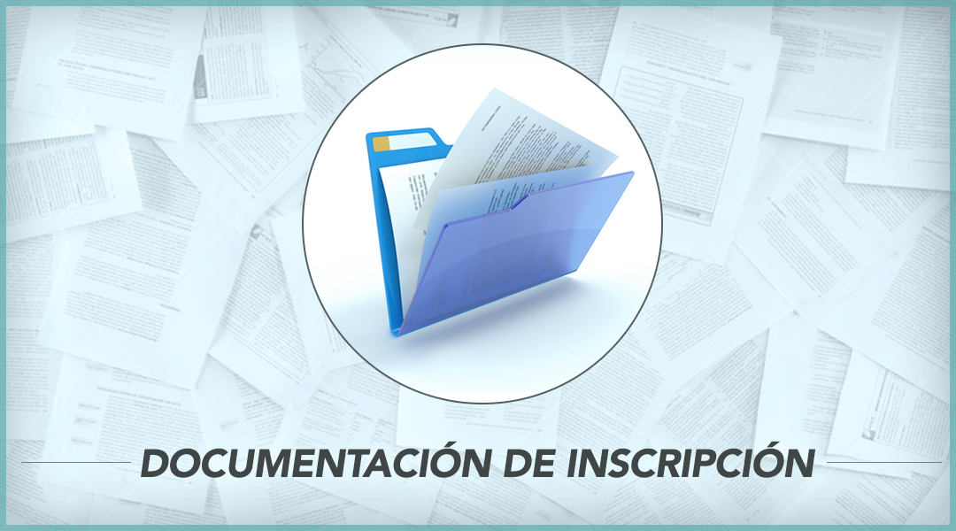 2. Documentos de inscripción