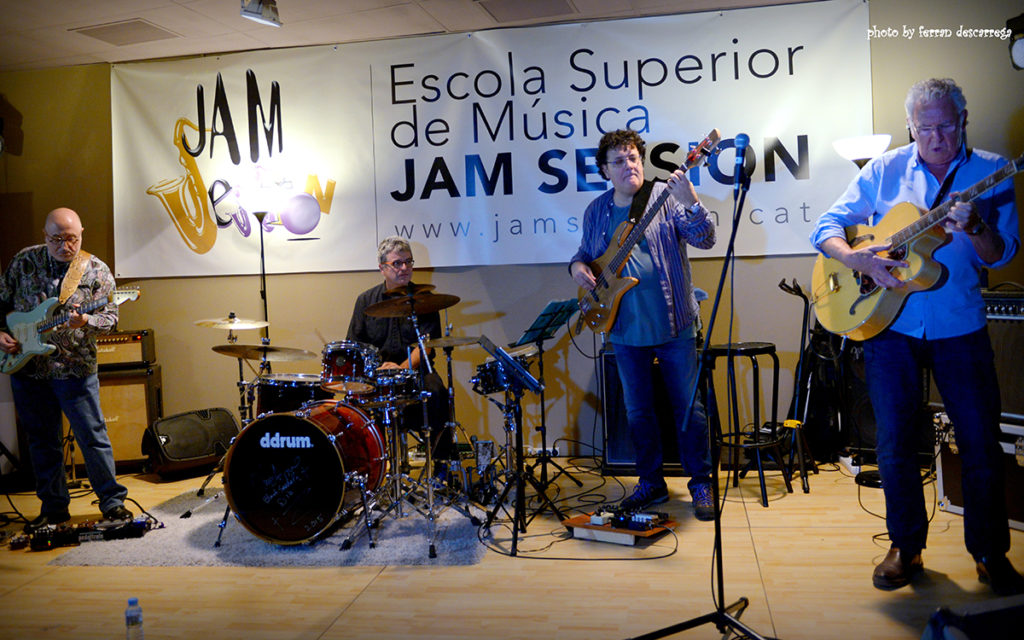Jim Mullen – Guitarra Elèctrica [Professor honorífic]