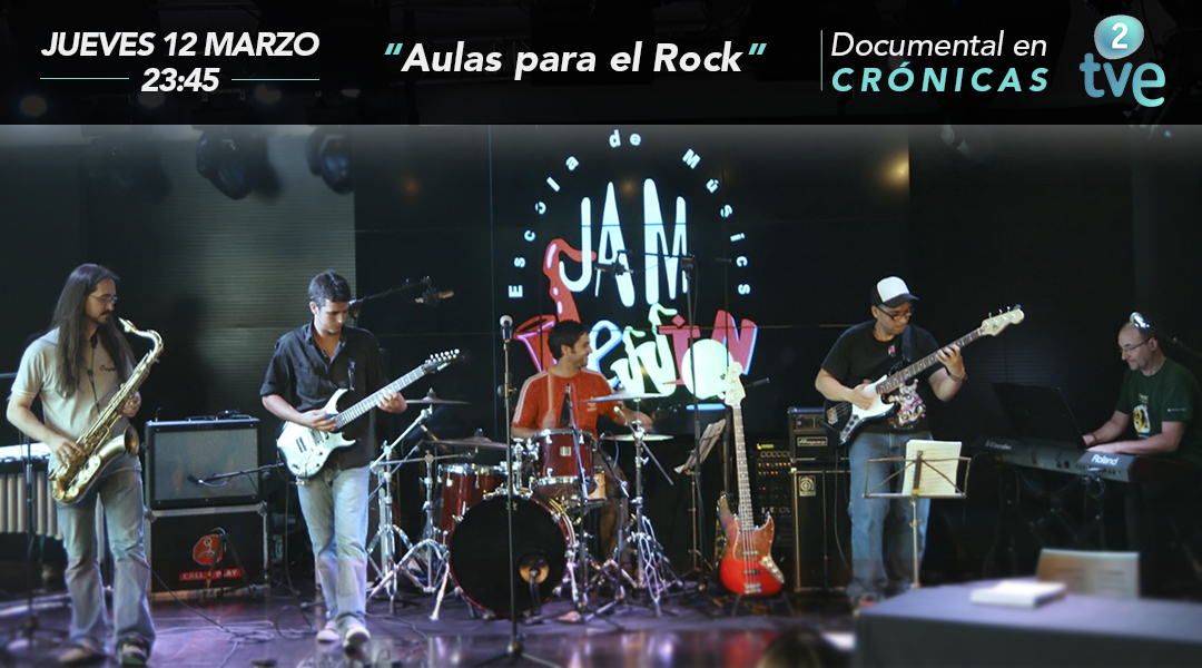 """Documentary RTVE 2 – """"Classrooms for the Rock"""""""