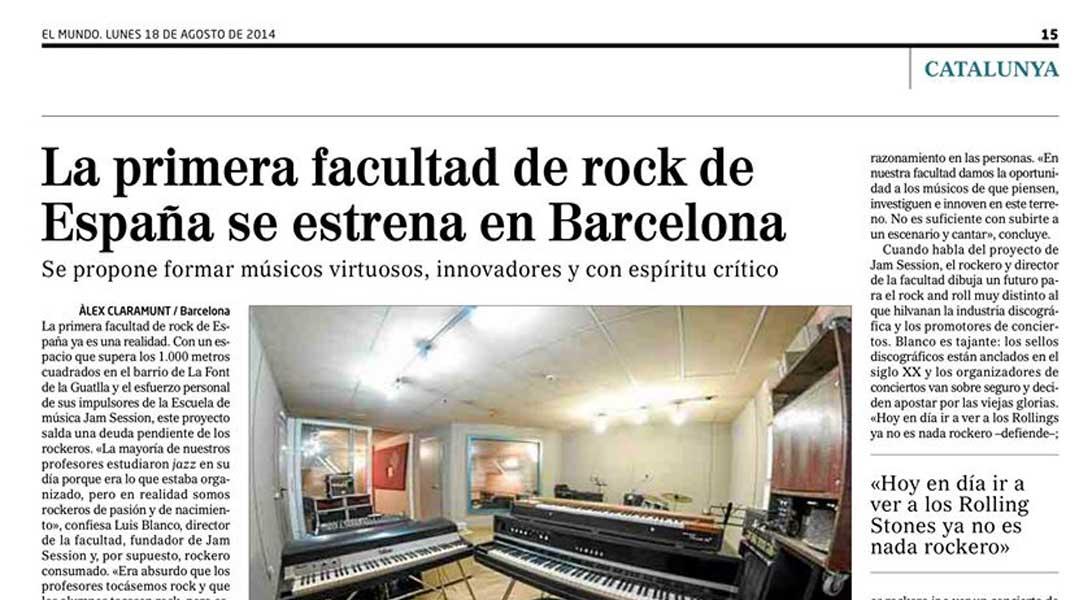 Newspaper EL MUNDO (18/08/2014)