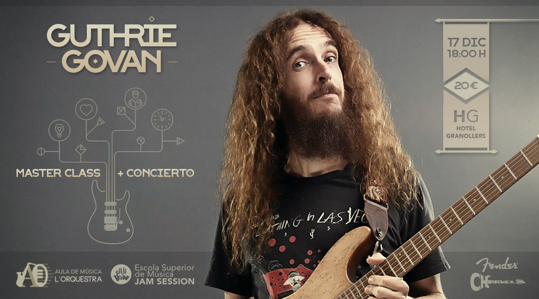 GUTHRIE GOVAN – MASTER CLASS + CONCERT (HOTEL GRANOLLERS)
