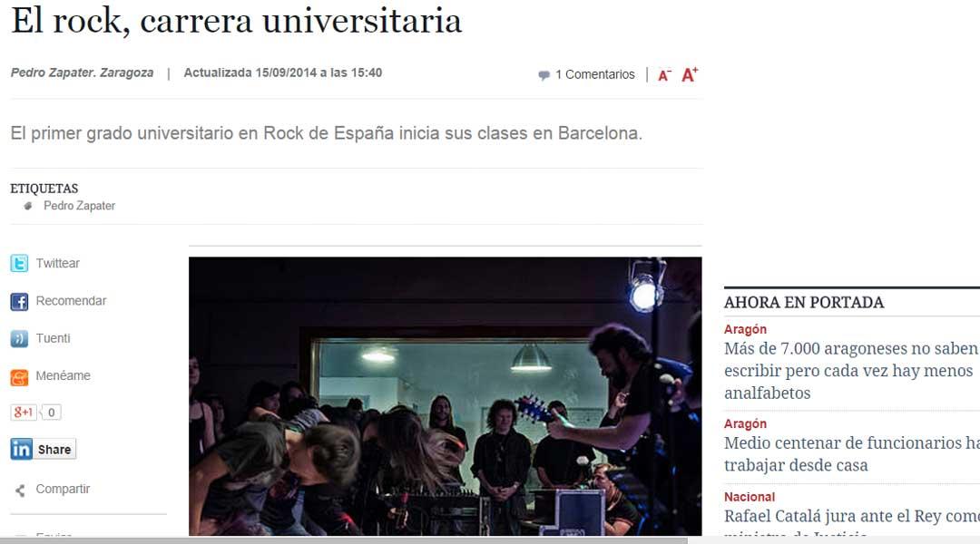 Prensa Digital HERALDO.ES (15/09/2014)