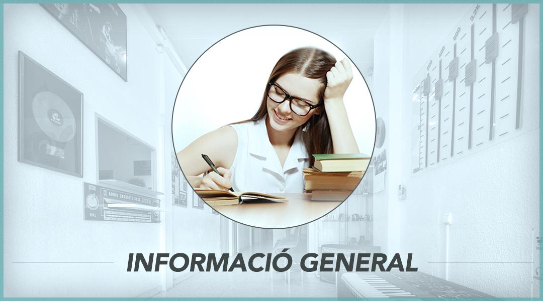 1. Informació general