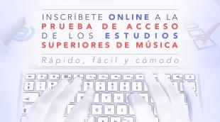 INSCRIPCION ONLINE PRUEBA DE ACCESO 4