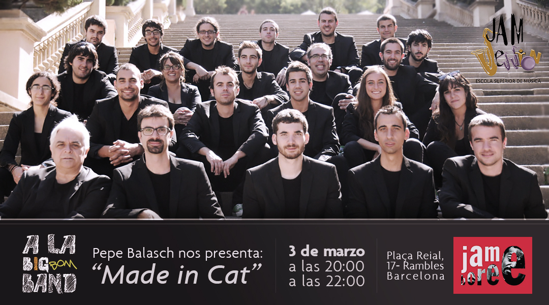 "Pepe Balasch presenta ""Made in Cat"" en Jamboree"