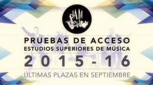 PRUEBAS DE ACCESO 2015-2016 (ultimas plazas septiembre)