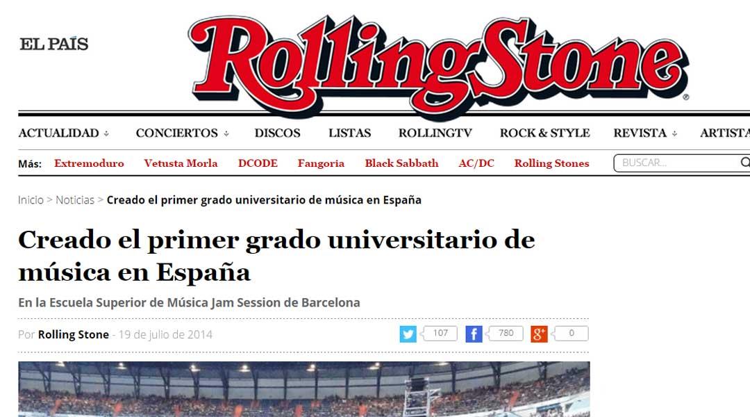 Magazine ROLLING STONES (19/07/2014)