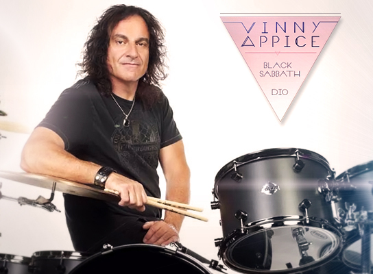 3 MASTER CLASSES + CONCERT WITH VINNY APPICE