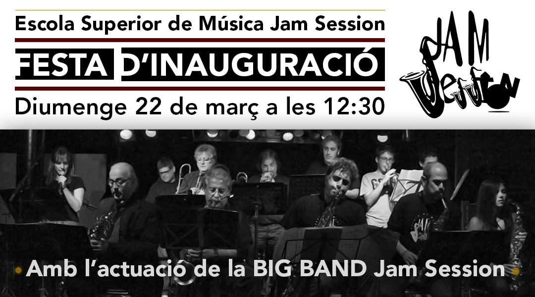 JAM SESSION OPENS THE NEW SCHOOL OF MUSIC