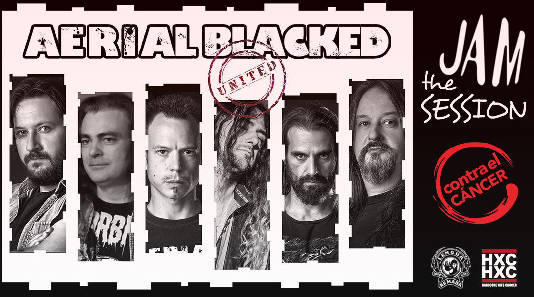 AERIAL BLACKED – JAM THE SESSION (AGAINST CANCER)