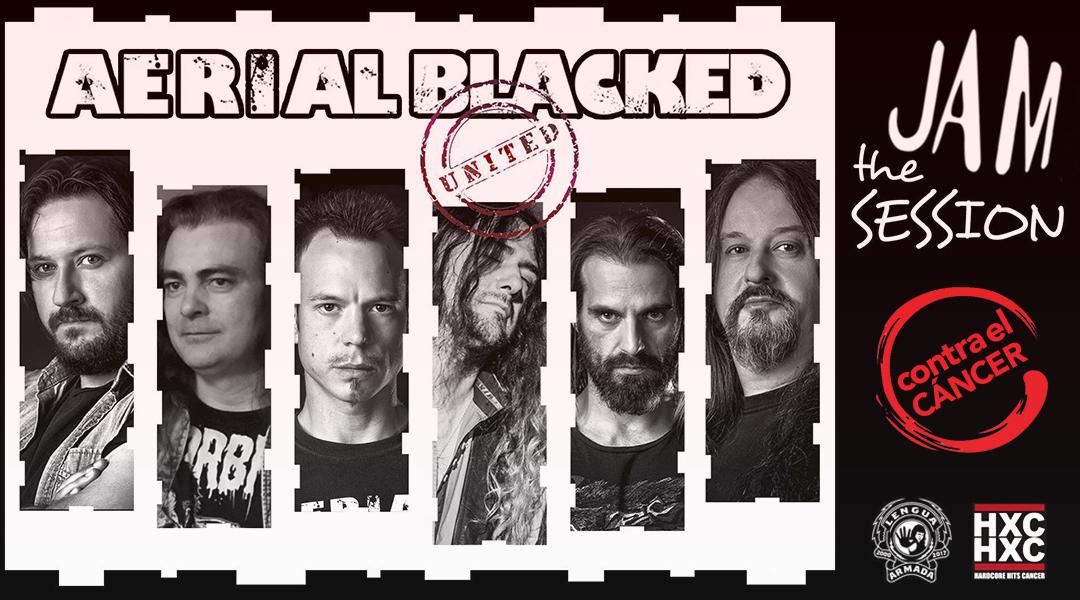 AERIAL BLACKED – JAM THE SESSION (CONTRA EL CÁNCER)