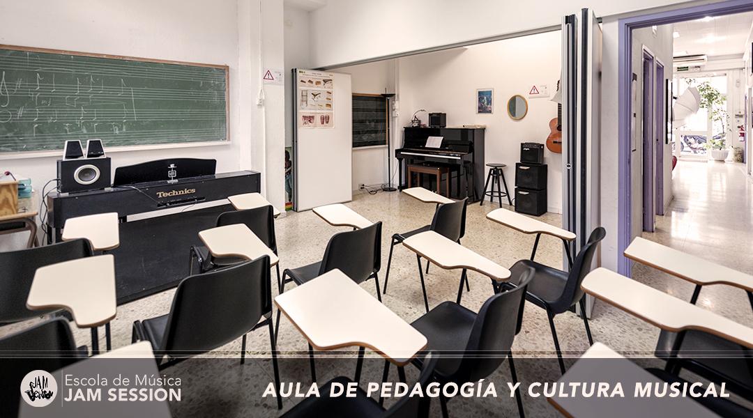 aula PEDAGOGIA Y CULTURA MUSICAL