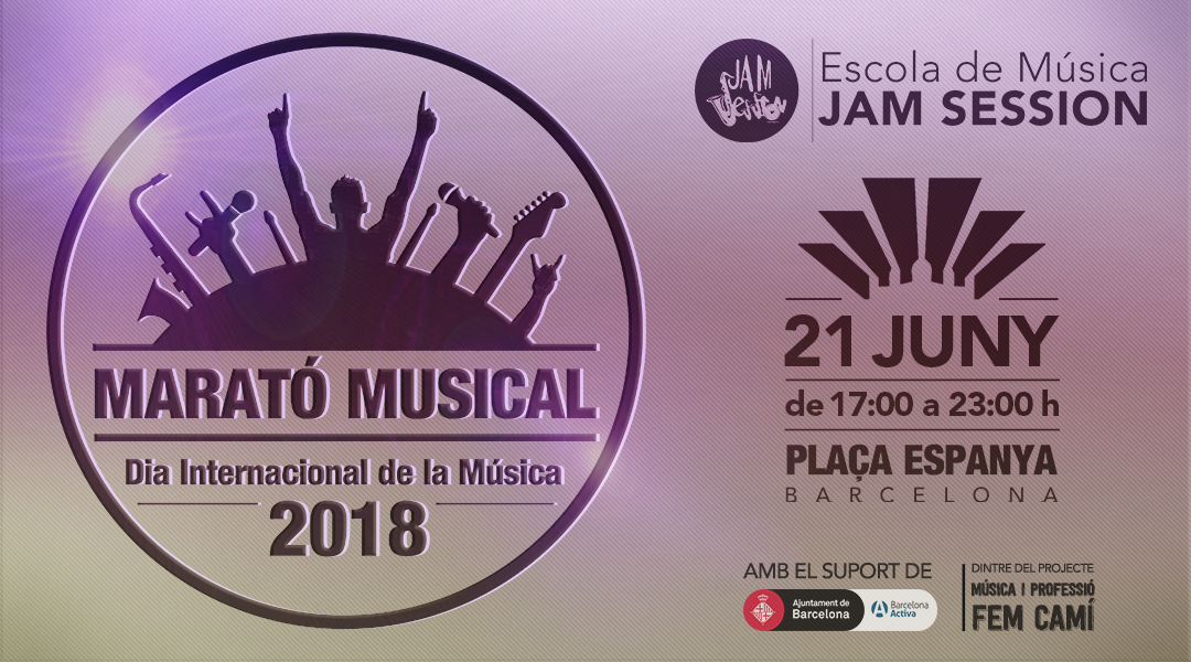 JUNE 21  ✪  MUSICAL MARATHON 2018 – INTERNATIONAL DAY OF MUSIC (PLAZA ESPAÑA)