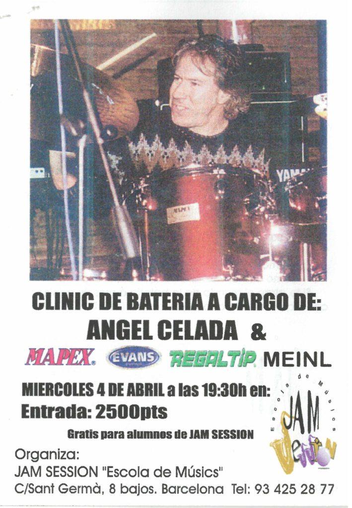 MASTER CLASS CON ANGEL CELADA