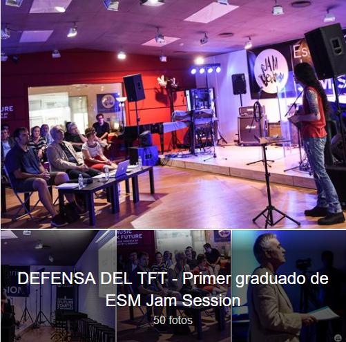 PRIMER GRADUADO SUPERIOR DE ESM JAM SESSION