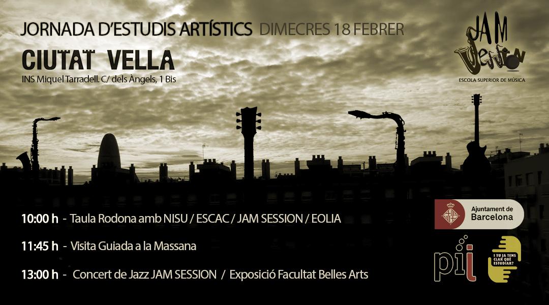 Ponència a Ciutat Vella + concert