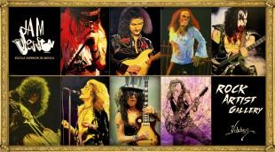 rock artist gallery