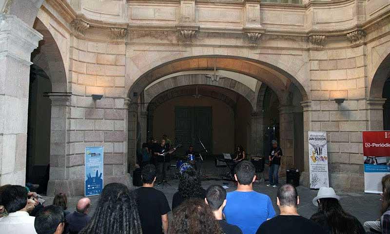 El 9 de juny del 2014, l'Escola Jam Session al Harlem Jazz Club / Festival Simfònic: Barcelona Ciutat Concert